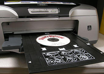 picture about Printable Cds titled Twin Layer Dvd: Printable Cd